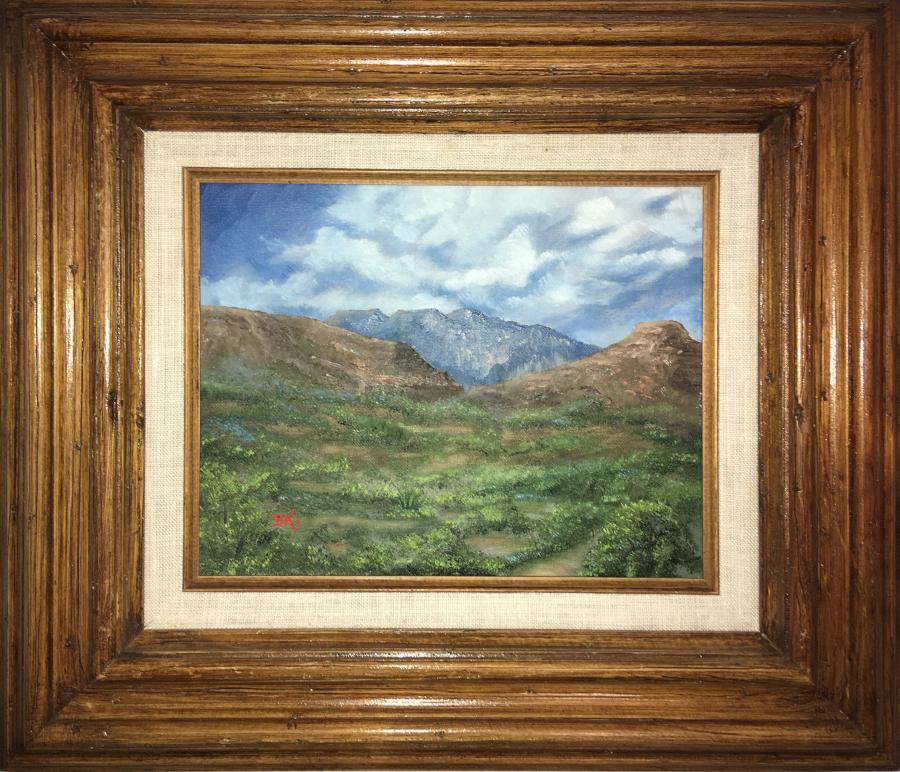 Original Oil Painting by BK Dennis